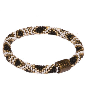 Sherpa Mayalu Basket Roll On Bracelet, black